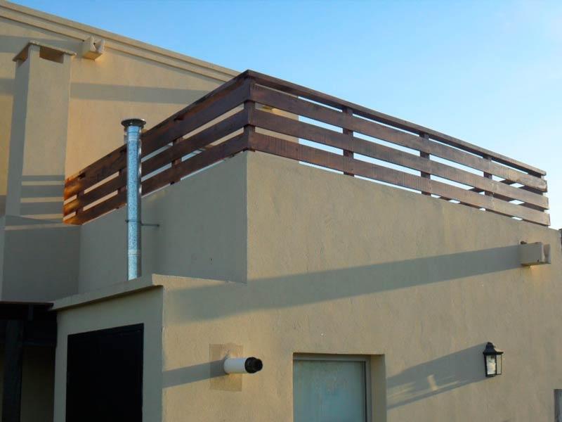 Barandas de madera exterior interesting barandilla con solera with barandas de madera exterior - Barandas de terrazas ...